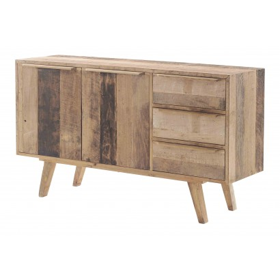 Toreto 2-door 3-drawer Buffet