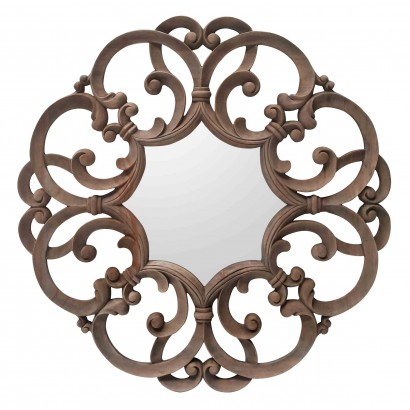 Mirror Carving Round K